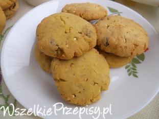 Ciasteczka z mąki kukurydzianej ( bezglutenowe ).