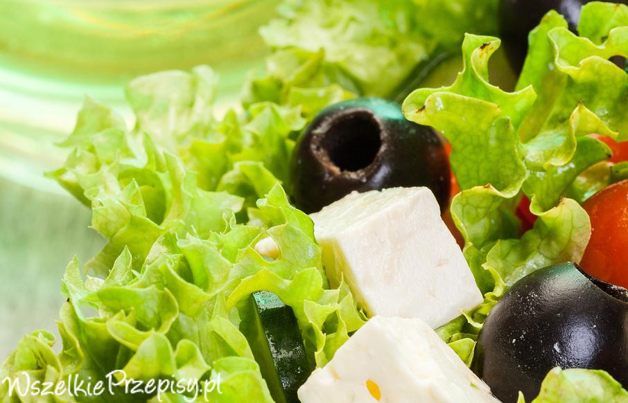 Salatka Grecka z Feta sa Atka Grecka z Fet