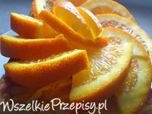 Aromatyczny mazurek pomarańczowy
