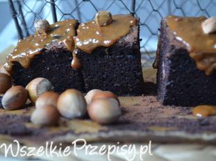 ciasto bananowe mocno czekoladowe