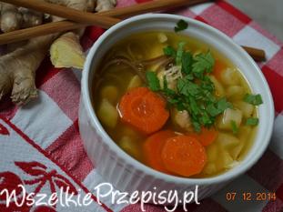 imbirowa zupa