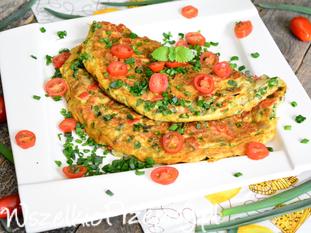 Warzywny omlet