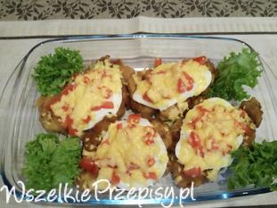 Kotlet Schabowy z jajkiem i pomidorem