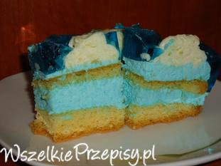 Smerfne ciasto - SMERFETKA