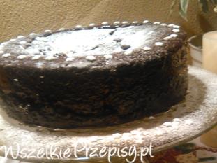 Tort podwójnie czekoladowy