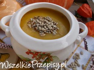 Zupa-krem dyniowo-ziemniaczana.