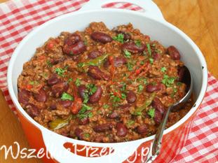 Chili con carne - sprawdzony przepis