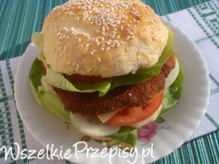 Domowe burgery drobiowe