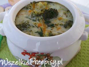 Brokułowa zupa.