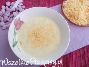 Duńska zupa serowo-porowa.
