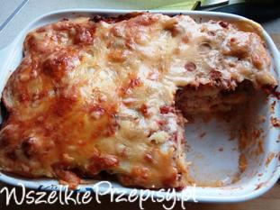 Ziemniaczana lasagne