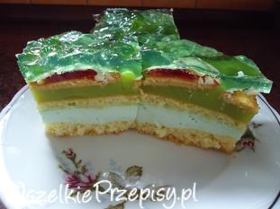Bajkowe ciasto - SHREK