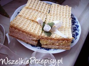 Orzechowy wafel