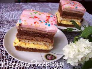 Ciasto z mleczną pianą