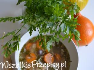 Zupa z fasolki masłowej