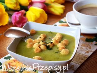 smaczna zupa brokułowa