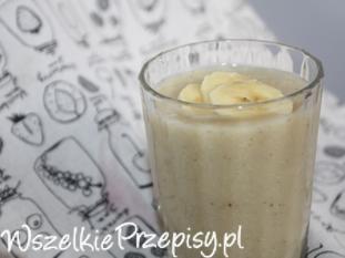 Koktajl jaglano – bananowy