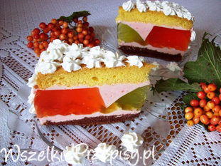 Letnie ciasto
