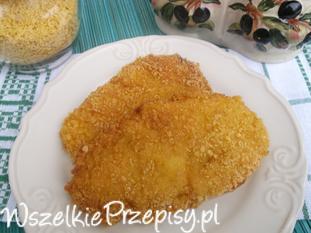 Filety z kurczaka w cieście i kukurydzianej panierce.