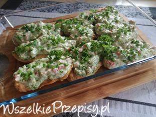 Filet pod warstwą Brokuła