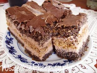 Ciasto makowe z Nutellą