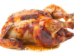 Kurczak pieczony z czosnkiem
