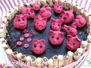 Tort ,, Świnki w błocie ''