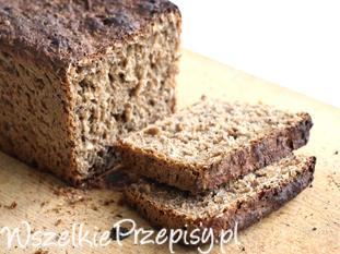 Domowy łatwy chleb razowy