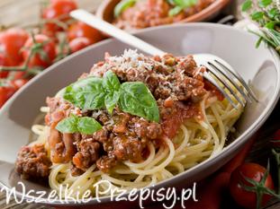 Przepis na spaghetti bolognese