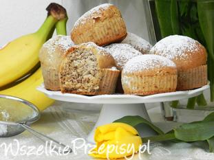 Muffinki bananowe (weganskie)