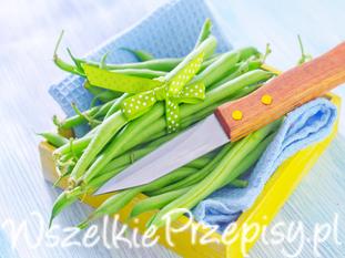 Fasolka szparagowa z koperkiem