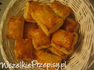 Francuskie ciasteczka z jabłkiem