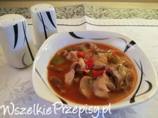 Pikantna zupa z żołądków