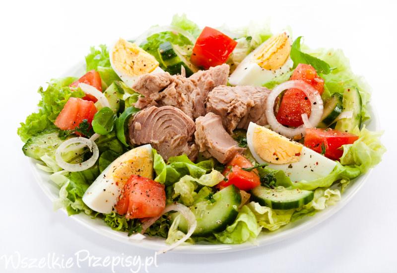 Pyszna Salatka Z Tunczykiem Przepisy Kulinarne Wszelkieprzepisy