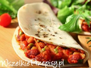 Przepyszna tortilla warzywna