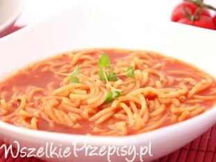 Zupa pomidorowa na szybko