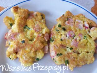 Grzanki omletowe