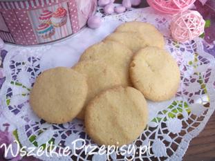 Kokosowe ciasteczka z mąki krupczatki.