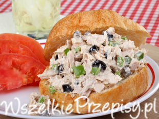 Sałatka z tuńczykiem tradycyjna