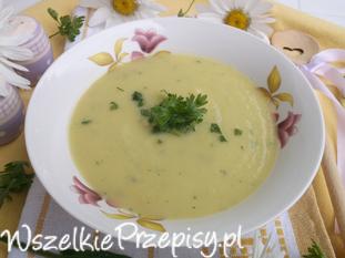 Zupa-krem z kalafiora.