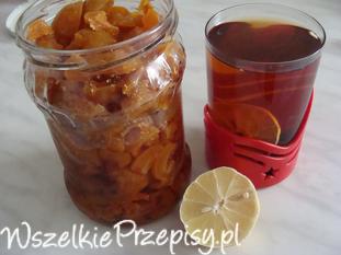 Herbata z pigwą i cytryną