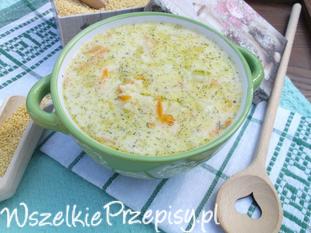 Zupa ziemniaczana z kaszą