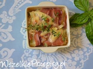 Lasagne z prosciutto