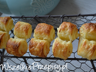 francuskie ciasteczka z serkiem mascarpone