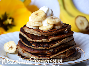 Bananowe placuszki sniadaniowe