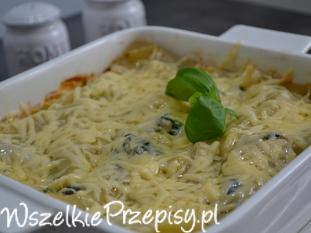 Lasagne serowo-warzywne