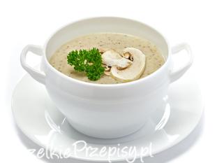 Pyszna zupa pieczarkowa