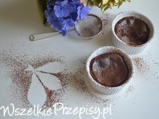Serniczki czekoladowe pieczone w kokilkach