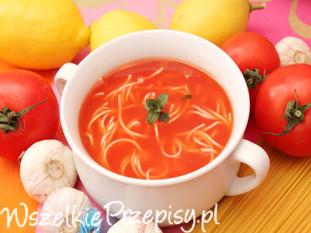 Zupa pomidorowa - delikatna