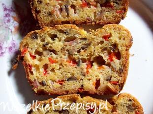 Kolorowy keks do chleba